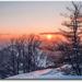 západ slnka na Reváni