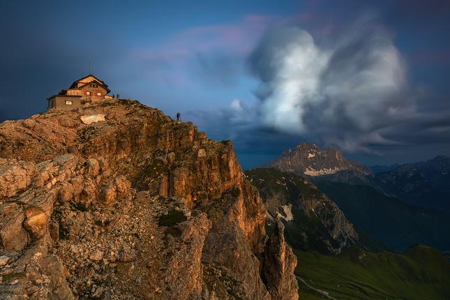 Podvečer na Nuvolau