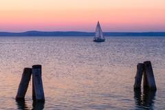 večerná plavba