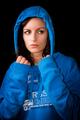 Blue hood