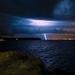 Búrka na pobreží