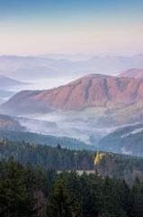 Ráno v údolí