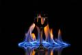 Ohnivá voda