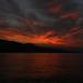 Východ slnka na mori