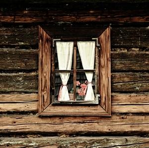 .. v okne