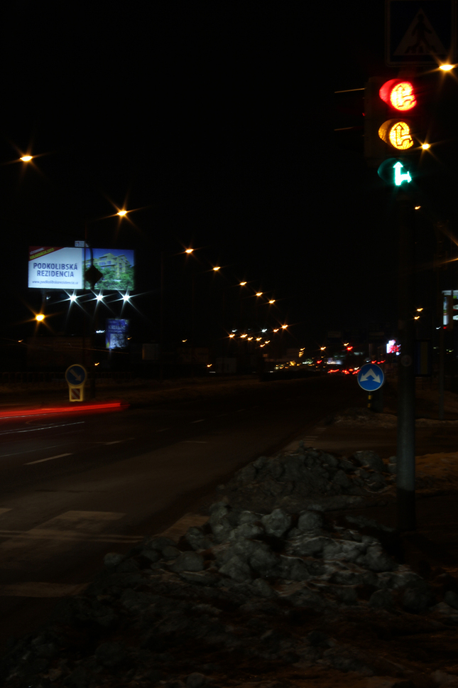 Pokazený semafor