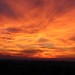 Mraky pri západe slnka