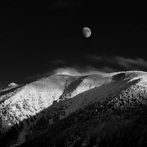 Mesiac nad Ötscherom