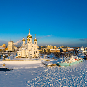 Archangelsk - prístav