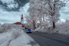 Schloss Gloggnitz Surreal