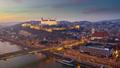 Dobrú noc Bratislava!