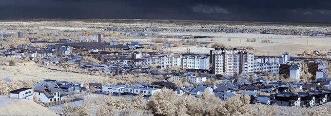 Infračervená-panoramaticko-búrko