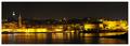 Valletta in the night