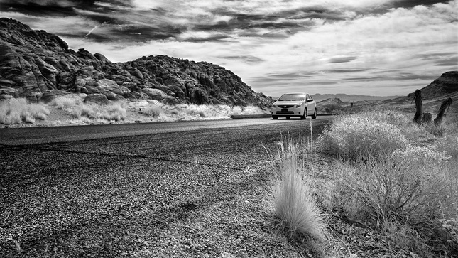 Lost in (Infra) Red Rock Canyon