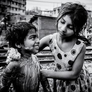 Ranná hygiena v slume Dháka