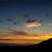 hrad Vinné - západ slnka