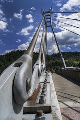 Peší most v Červenom Kláštore