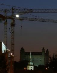 výstavba Hradu