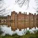 Herstmonceux castle reflection
