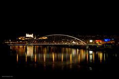 Apollo Bridge - Night Bratislava