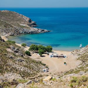 pláž Psili Ammos, Patmos