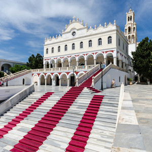chrám Panagia Evangelistria