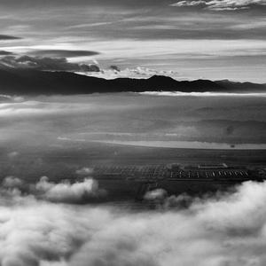 letecký pohľad..