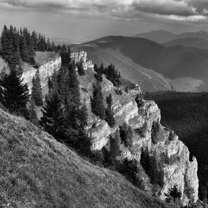 skalné terasy...