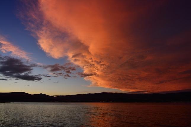 Sunset in Arbanija