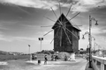 Veterný mlyn v Nesebare