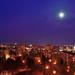 Mesačná noc v meste
