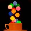 Bokeh cup