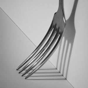 Vidlička v tieni