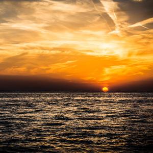Západ slnka v Zadare