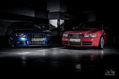 Audi S5 + S4 garage