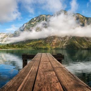 Ráno na jazere