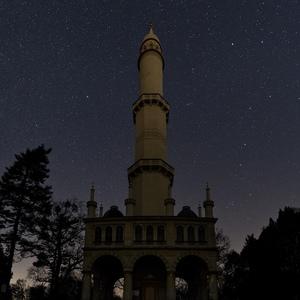 Minaret a Velký vůz