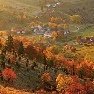 Podzim na Podpoľaní
