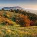 Podzimní ráno na Stolové hoře...