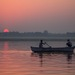 Východ slnka nad Gangou