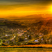 západ slnka HDR