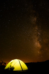Pod širákom v Death Valley