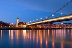 Krásavci na Dunaji