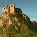 Lednický hrad v rannnom svetle