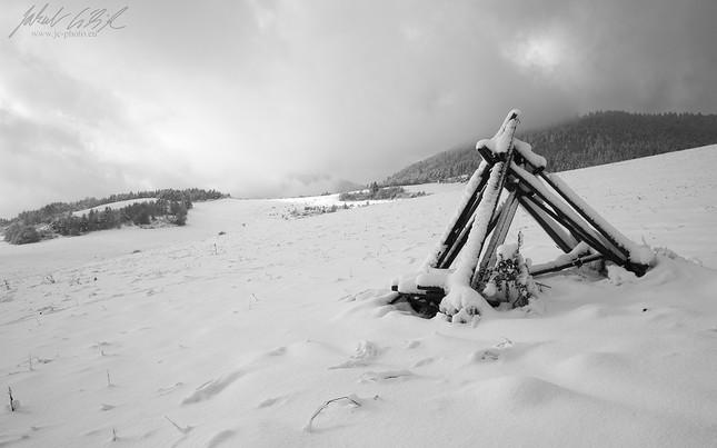 Zima v Bielych Karpatoch