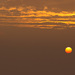 Ranné slnko v hmle