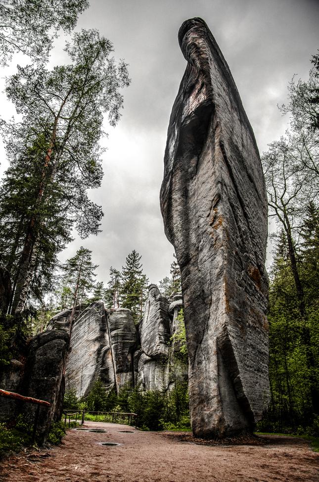 Adršpašské skaly  II