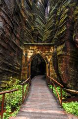 Adršpašské skaly vchod