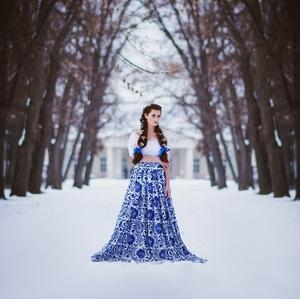 folk bride