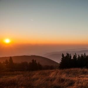 beskydský sunset